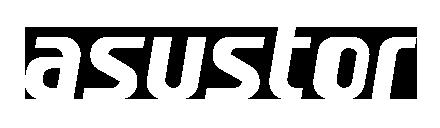 Asustor logo white